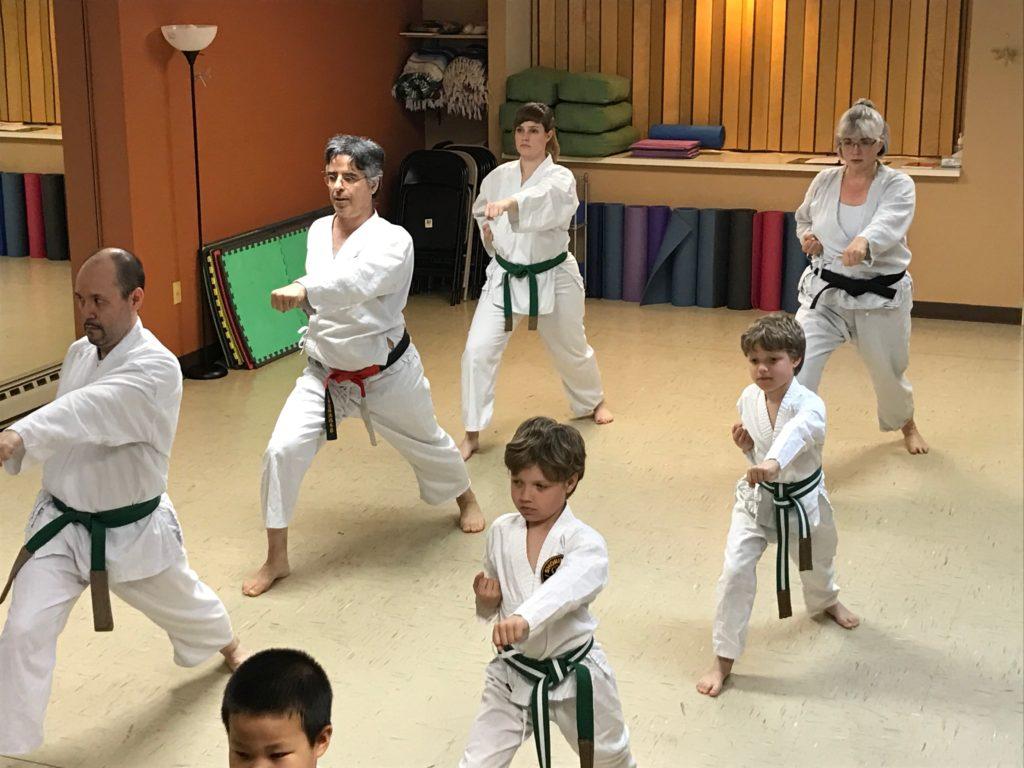 Kata Fukyugata Ichi practice
