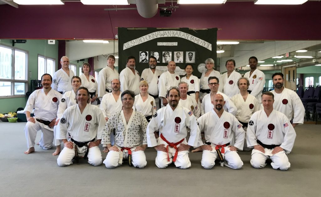 Hosting a system-wide black belt test in State College